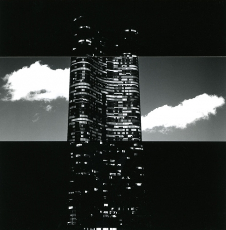 Chicago (73-2-7-12), 1973, 6.25 x 7 inch gelatin silver print and collage