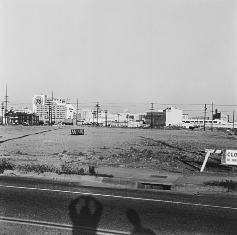 Untitled (Los Angeles), fromVacant Lotsseries, 22x 22 inchsilver gelatin print