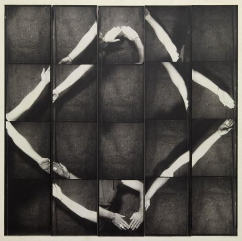 Untitled, PB #1083, 1973. Gelatin silver photobooth prints, vintage.