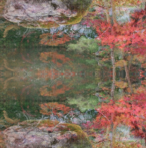 Floating World 01, from the seriesFloating World, 2016, 47 1/4 x 46 1/2 inch archival pigment print