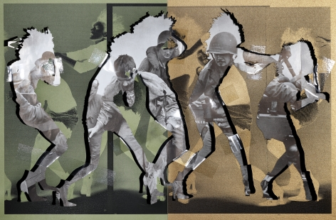 Dance,2019. Archival pigment print, 52 x 80 inches.