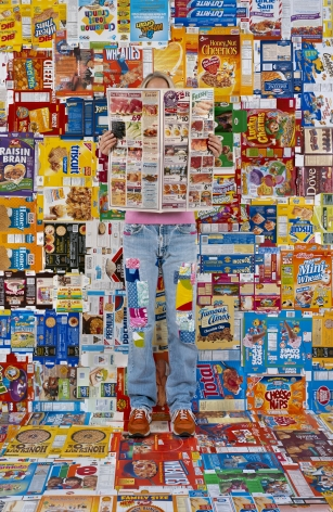 Lost in my Life (boxes), 2009,archival pigment print,34 x 24 inches,60 x 40 inches, or90 x 60 inches.
