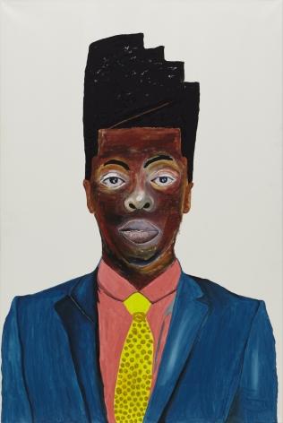 Phupho,2021. Acrylic on canvas, 70 3/4 x 47 1/4 inches.