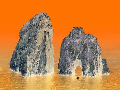 Capri #7, 2013. 65 x 85 inch archival pigment print. Edition of 6.