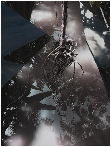 GD20_316,2020. Unique collaged archival pirgment print with graphite, 29 x 22 inches.