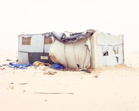 Samuel Gratacap,Empire, refugee camp of Chouca, Tunisia,2012-14, 22 3/8 x 28 inch archival pigment print.