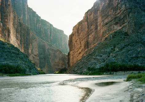 Untitled (Santa Elena Canyon), Texas, 2010, 39 x 55 or 55 x 77 inch chromogenic print