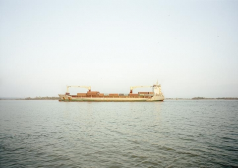 Untitled (Cargo, UAL Angola, Isle of Man), Houston Ship Channel, Texas, 2016.
