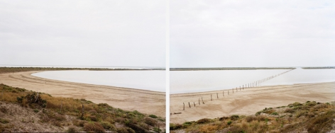 Untitled (The Bowl In Bahia Grande) Brownsville, TX, 2015, 2 30 x 42 inch chromogenic prints