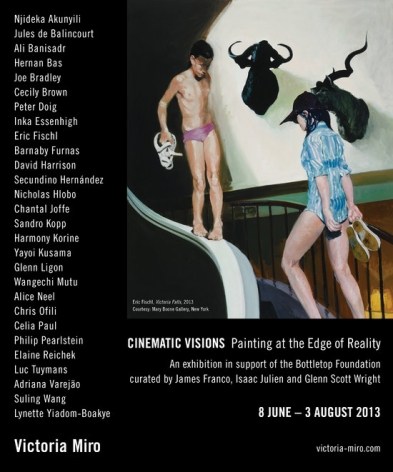 """Cinematic Visions: Painting at the Edge of Reality"""