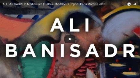 """Ali Banisadr """"In Medias Res"""" Galerie Thaddaeus Ropac Paris"""