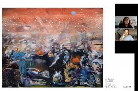 Art Basel OVR Event: Ali Banisadr In Conversation With Patricia Hickson