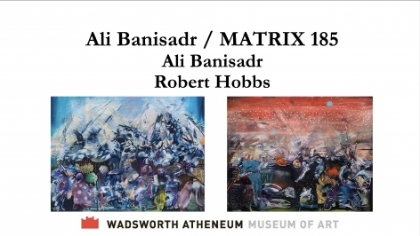 """""""Ali Banisadr and Robert Hobbs in conversation"""", Hosted by Wadsworth Atheneum Museum of Art"""