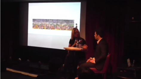 Ali Banisadr in conversation with Charlotte Mullins at The Arts Club