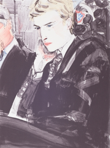 Elizabeth Peyton  Prince William, 2000  color lithograph  24 x 18 inches  10, Edition of 350  signed  $9,000