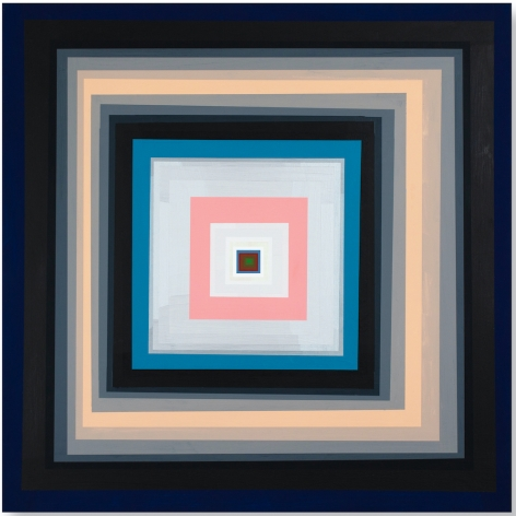 Gary Lang CONCENTRICSQUARE, 2020 acrylic on panel 30 x 30 inches