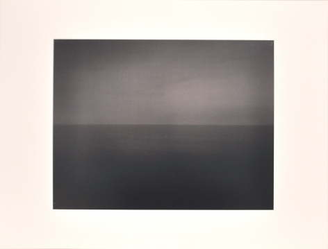 Hiroshi Sugimoto  Time Exposed [Tyrrhenian Sea Amalfi 1990,  340], 1991  offset lithographs on laid paper with full  margins  18 1/4 x 13 7/8 inches  Edition of 500  blindstamped title, date and number  $1,500
