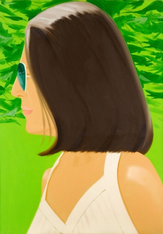 Alex Katz  Ada in Spain, 2018  archival pigment inks on Crane Museo Max 365 gsm fine art paper  46 x 32 inches  edition of 150  $9,500