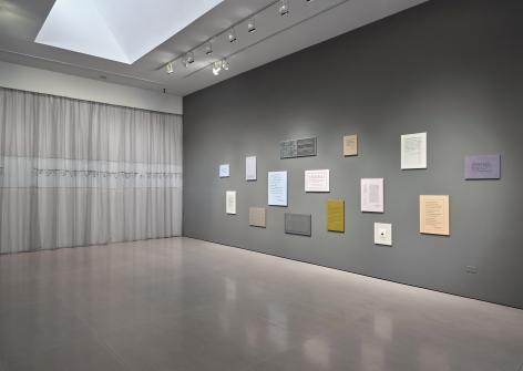 Elaine Reichek installation image main gallery