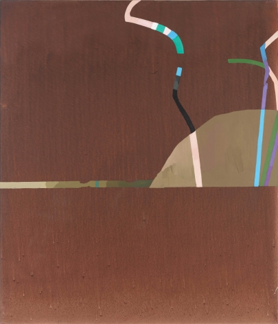 DOROTHY HOOD (b.1918 Bryan, TX; d.2000 Houston, TX) Imitation of Upward, 1970s oil on canvas 70 x 60 1/8 inches