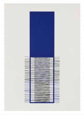 Jesus Rafael Soto Caroni, 1971 serigraph 23 5/8 x 33 1/2 inches