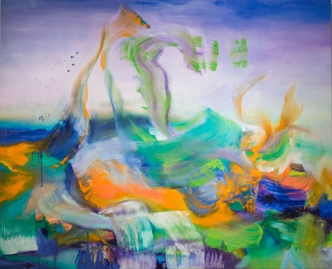 Angelina Nasso Surrender, 2014 oil on canvas 78 x 96 inches