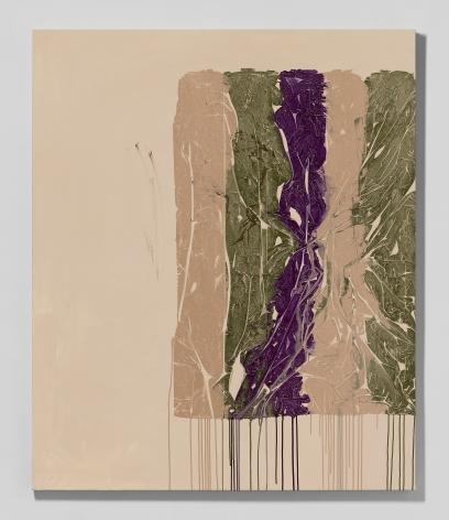 Shane Tolbert  Nude, Wedding Dress, 2021  acrylic on canvas  60 x 50 inches