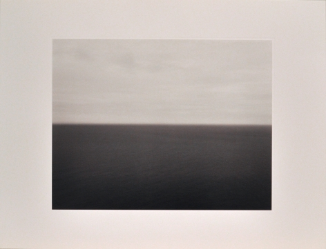 Hiroshi Sugimoto  Time Exposed [Bay of Biscay Bakio 1991, 364], 1991  offset lithographs on laid paper with full margins  18 1/4 x 13 7/8 inches  edition of 500  blindstamped title, date and number  $1,500
