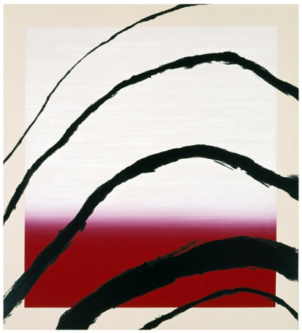 Julian Schnabel  Last Attempt at Attracting Butterflies III, 1995  10-color silkscreen print  56 x 51 inches  edition of 80  Publisher: Lococo Fine Art Publisher  $6,000
