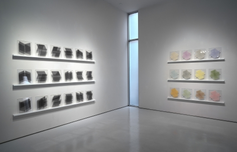 Install view of Between the Needle and the Book, West Gallery, January 18 - March 7, 2020