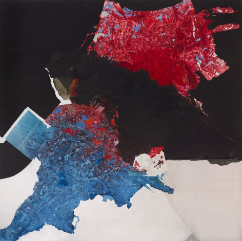 Dorothy Hood Untitled, 1980s  oil on canvas canvas: 60 x 60 1/2 inches frame: 61 x 61 inches