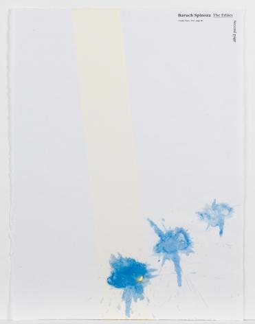 Richard Tuttle  Plastic History (Portfolio), 1990  silkscreen and handmade paper  18 x 24 inches  edition of 50  $12,000