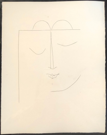 Pablo Picasso  Carmen. Plate XXVII, 1948 (May 6)  engraving  paper: 12 7/8 x 10 1/4 x 2 1/2 inches  frame: 20 11/16 x 17 7/16 inches  Edition of 320