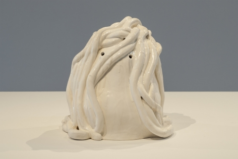 Sharon Engelstein,  The Eleven, 2016,  glazed ceramic,  11 x 10 x 10 1/2 inches