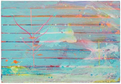 Brendan Cass  South Beach Express, 2013  acrylic on canvas  31 x 45 inches