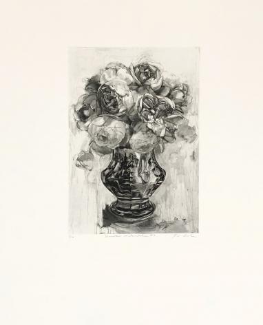Karin Broker Domestic Melancholia #4 (From Dark Talk Portfolio), 2003 photogravure 26 1/4 x 22 1/4 inches Edition 3 of 12