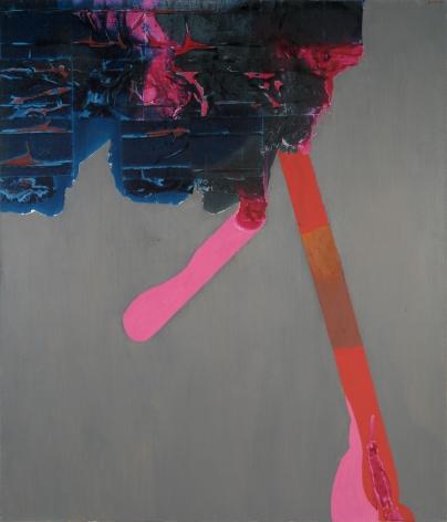 Dorothy Hood Orbs Flora IX, 1970s oil on canvas 70 x 60 3/4 inches