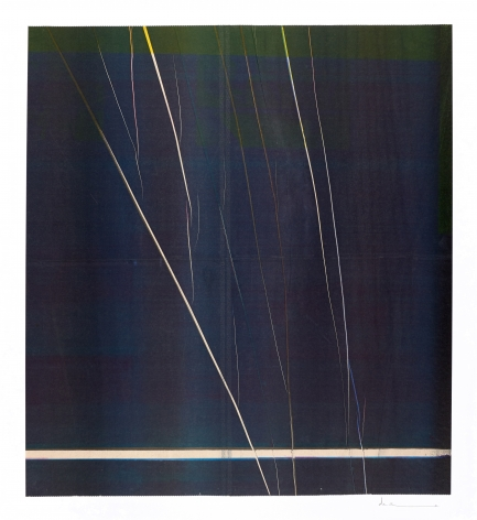 Anne Deleporte  Lightning, 2019  ink on paper mounted on Arches paper  25 1/2 x 23 1/4 inches  (AnD-46)  $8,000