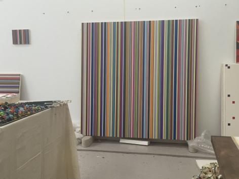 Artist's studio, 2020