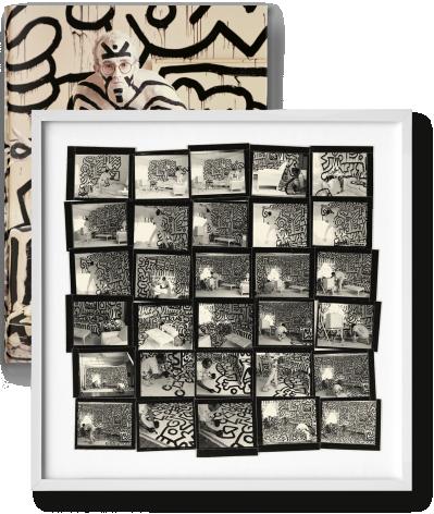 Annie Leibovitz  Annie Leibovitz, Art Edition SUMO book by Taschen Edition: Keith Haring  SUMO book  Edition of 1000  $5,000
