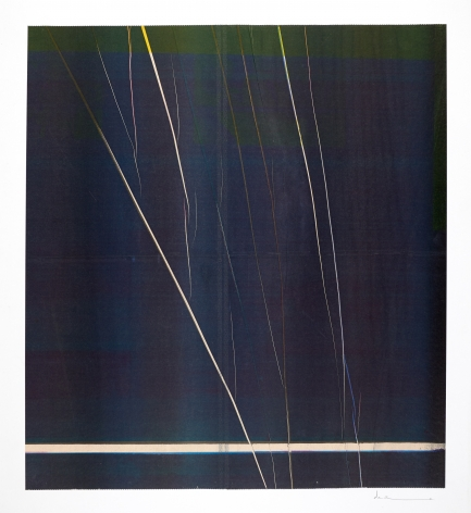 Anne Deleporte  Lightning, 2019 ink on paper mounted on Arches paper 25 1/2 x 23 1/4 inches