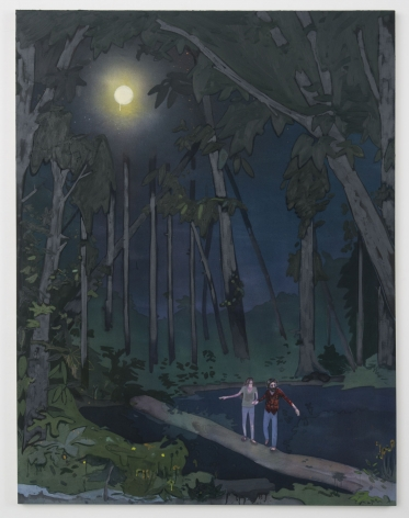 Kent Dorn Leave the Light Behind, 2014 mixed media on canvas 80 x 60 inches