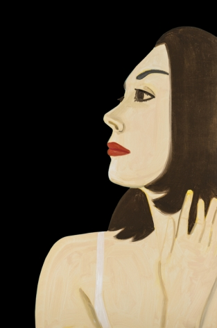Alex Katz  Laura I, 2017  archival pigment inks on Crane Museo Max 365 gsm paper  46 x 30 1/2 inches  Edition of 100  $9,500