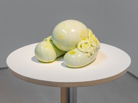 Sharon Engelstein,  Healthy, 2018,  glazed ceramic,  5 1/2 x 7 x 7 1/2 inches