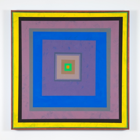 Gary Lang CONCENTRICSQUARE, 2019 acrylic on panel 30 x 30 inches