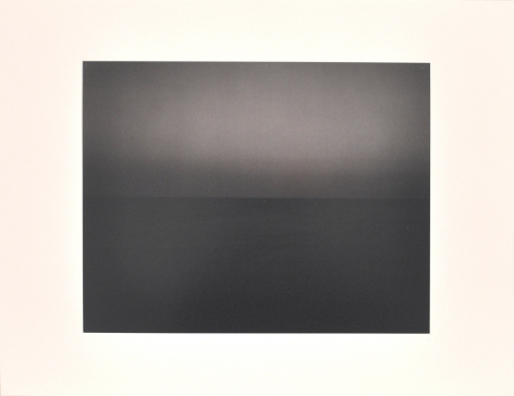 Hiroshi Sugimoto  Time Exposed [South Pacific Ocean Tearai  1991, 360], 1991  offset lithographs on laid paper with full  margins  18 1/4 x 13 7/8 inches  Edition of 500  blindstamped title, date and number  private collection