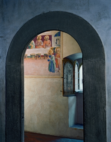Robert Polidori The Last Supper, or Communion of the Apostles by Fra Angelico, Cell 35, Museum of San Marco Convent, Florence, Italy, 2010 archival pigment print mounted to dibond paper: 54 x 44 inches Edition of 5, with 2 APs