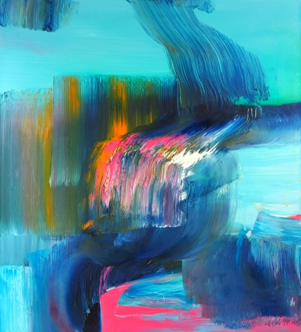 Angelina Nasso  Courage, 2014  oil on canvas  30 x 27 inches
