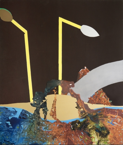 Dorothy Hood  Untitled, c 1980s  oil on canvas  70 x 60 inches
