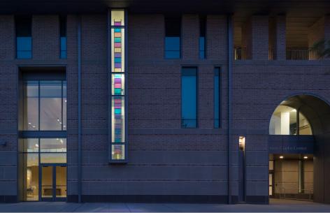 Black Ladder at Rice University (Anderson-Clarke Center).